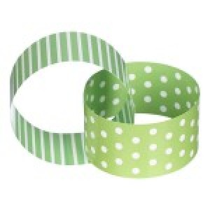 Green & White Paper Chain 3mtrs