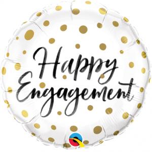 Foil Balloon Happy Engagement