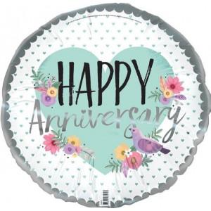 Foil Balloon Happy Anniversary