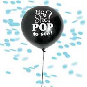 He or She Reveal Balloon - Girl