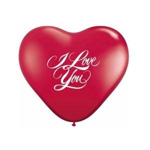 Balloon Single Heart Shape - I Love You