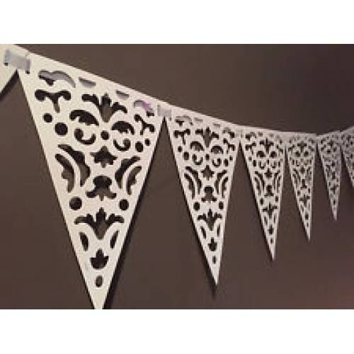 Lace Paper Bunting