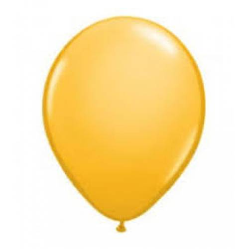 Balloon Single Goldenrod