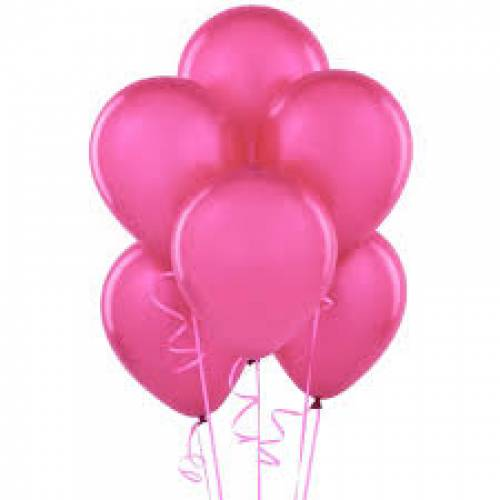 Balloon Single Hot Pink