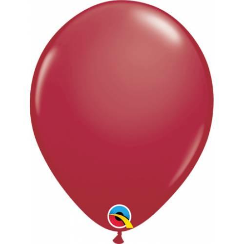 Balloon Single Maroon