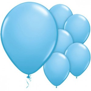 Balloon Single Powder Blue