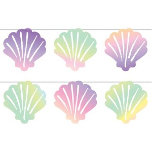 Mermaid Party Bunting 1.9m