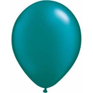 Balloon Single Metallic Teal