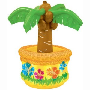 Inflatable Hawaiian Palm Tree Cooler