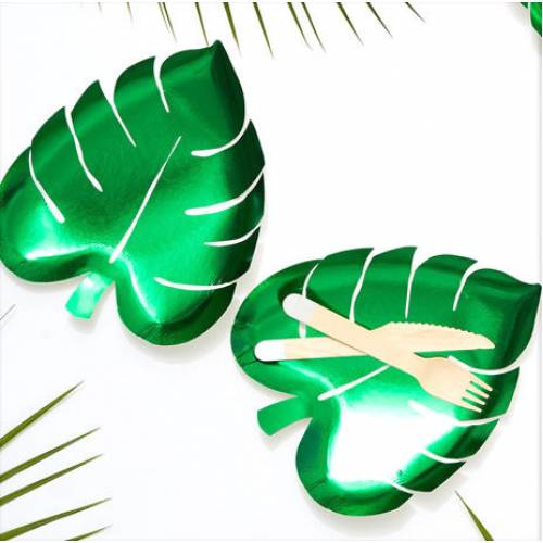Palm Leaf Plates 8pk