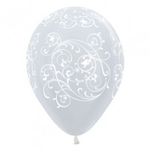 Balloon Single Filigree Assorted