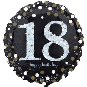 Foil Balloon 18th Birthday - Radiant