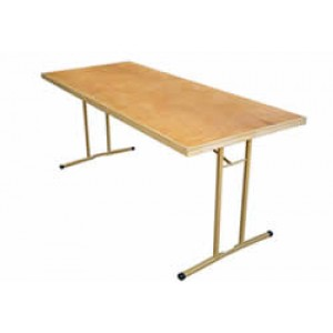 8ft (2.4m) Trestle Table Hire