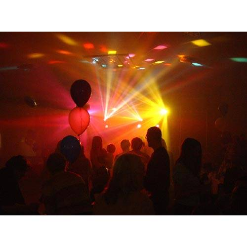 The 7 Effects (Disco Party) Light Package - includes 2 stands