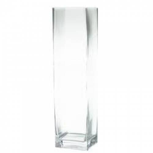 Vase, Rectangle (Tall Cube)