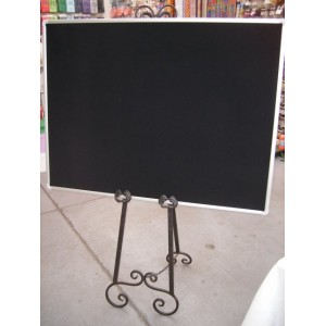 Easel - Wrought Iron 1.7m & Large Board
