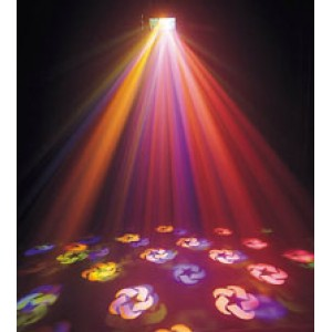 The 4 Effects (Disco Party) Light Package - includes 1 stand