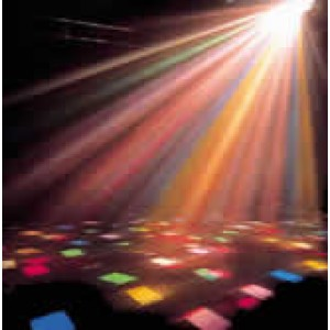 The 5 Effects (Disco Party) Light Package - includes 1 stand