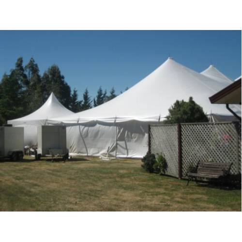Toilet Marquee 3m x 6m - Silk Lined