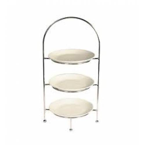 Cake Stand & Plates 3 Tier