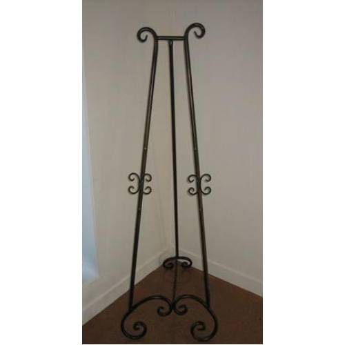 Easel - Wrought Iron 1.4m & Small Board