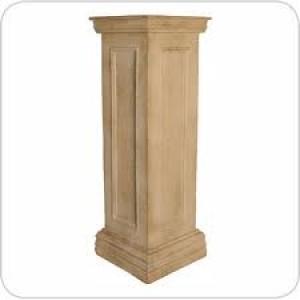 Sandstone Pedestal, 85cm