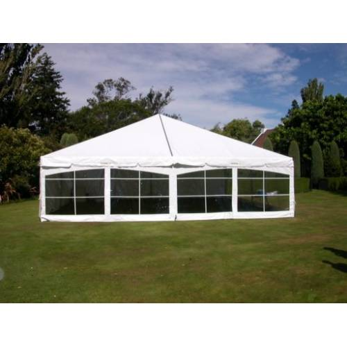 Bayview Clear Wall 4m x 2.4m
