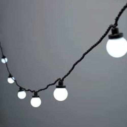 Festoon Lights 55m White
