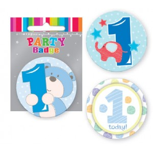 Badge 1st Birthday Boy