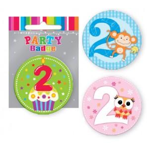 Badge 2nd Birthday