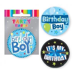 Badge Birthday Boy