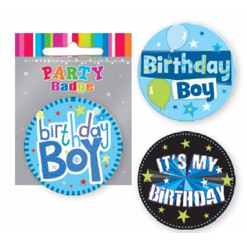 Badge Birthday Boy