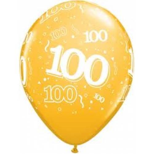 Balloons 100th Birthday Balloon
