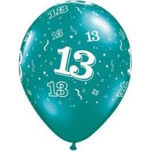 Balloons 13th Birthday Balloon