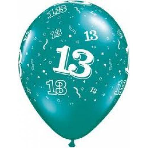 Balloons 13th Birthday Balloon