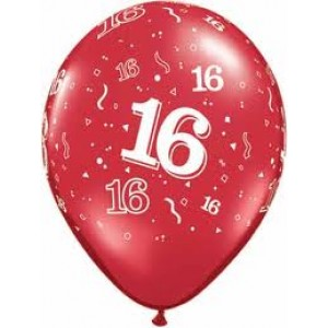 Balloons 16th Birthday Balloon