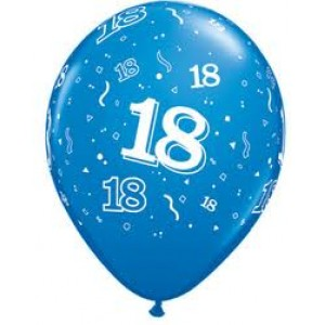 Balloons 18th Birthday Balloon