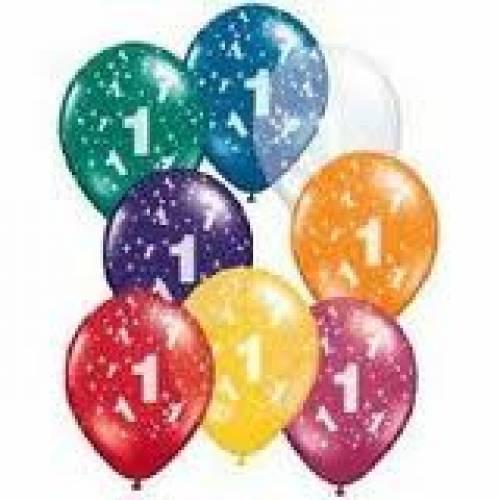 Balloons 1st Birthday Balloon