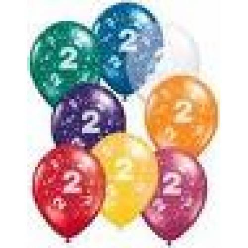 Balloons 2nd Birthday Balloon