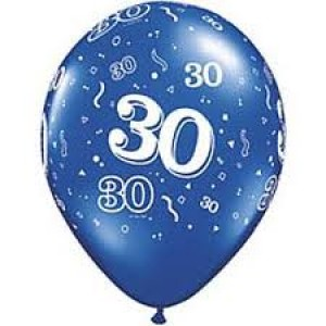 Balloons 30th Birthday Balloon