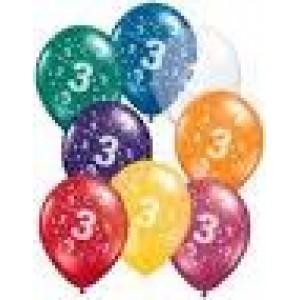 Balloons 3rd Birthday Balloon