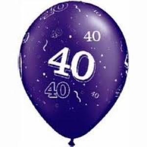 Balloons 40th Birthday Balloon