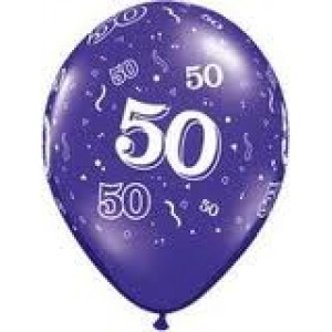 Balloons 50th Birthday Balloon