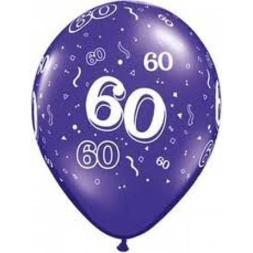 Balloons 60th Birthday Balloon