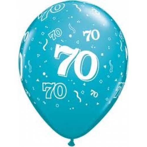 Balloons 70th Birthday Balloon