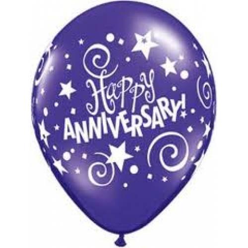 Balloons Anniversary Printed Balloon