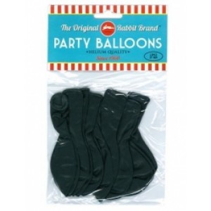 Party Balloons Black Party Balloons