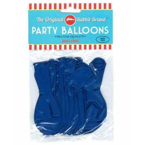 Party Balloons 10 pk Metallic Blue