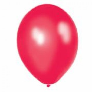 Balloons Metallic Red Balloon