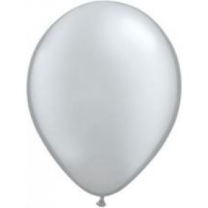 Balloons Metallic Silver Balloon